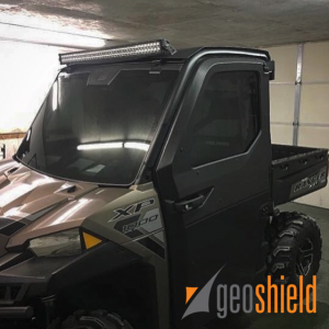 Polaris Ranger Chills Out with Geoshield Pro Classic Tint