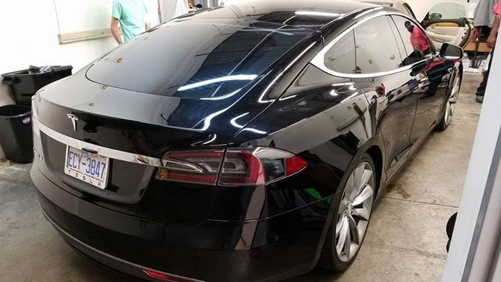 Cutting Edge Tesla Gets State of the Art Geoshield Window Film 3