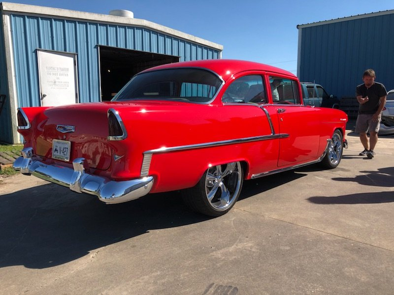 55' Chevy Pronano Window Tint - Classic Style with Modern Performance