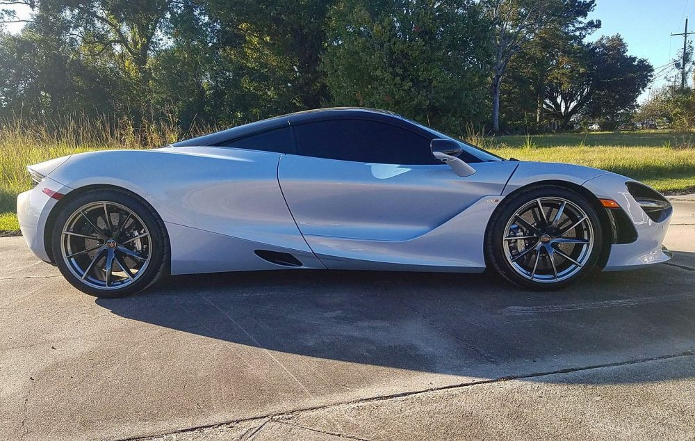 Beautiful McLaren Upgraded with Geoshield Automotive Window Tint