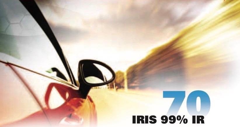 Geoshield IRis 70 Automotive Window Film Now Offers 99% IR Rejection