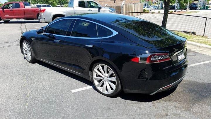 Cutting Edge Tesla Gets State of the Art Geoshield Window Film