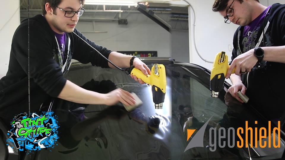 Shrinking Ceramic Window Tint - Geoshield Pronano vs Competition